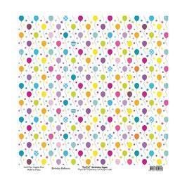 Birthday, Balloons - Bella!