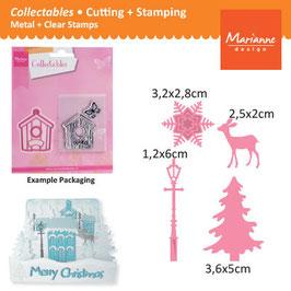 Collectables Christmas Village Decoration - Marianne Design