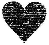 Herz mit Text - Reprint