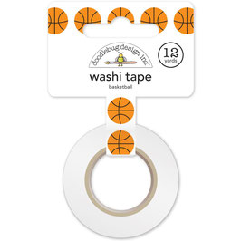 Basketball, Slam Dunk Washi Tape - Doodlebug