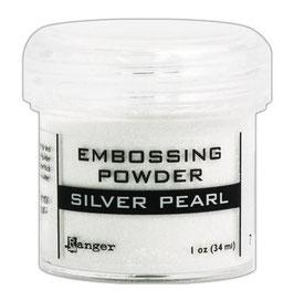 "Embossingpulver ""Silver Pearl"" - Ranger"