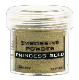"Embossingpulver ""Princess Gold"" - Ranger"