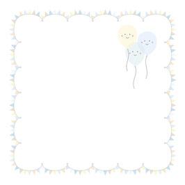 """Designpapier """"Adorable Balloons """" - Artemio"""