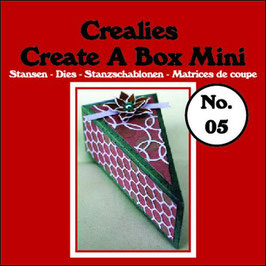 "Create A Box MINI ""Piece Of Cake"" - Crealies"