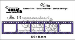 "X-tra No.13 ""Filmstrip Small"" - Crealies"