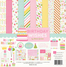 Birthday Wishes Girl - Echo Park Paper