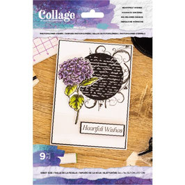 """Clearstampset """"Heartfelt Wishes"""" - Crafter's Companion"""