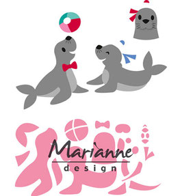 "Collectable ""Eline's Seals"" - Marianne Design"
