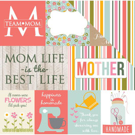Journaling Cards, Beautiful Mom - Echo Park