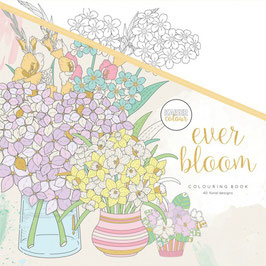 Colouring Book, Ever Bloom - Kaisercraft