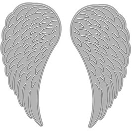 "Stanzschablone ""Angel Wings"" - Hero Arts"