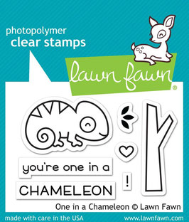 "Stempel ""One In A Chameleon"" - Lawn Fawn"