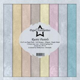 Rustic Pastels 6x6 Paperpad - Dixi Craft