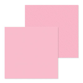 Dot-Stripe Petite Prints, Cupcake - Doodlebug