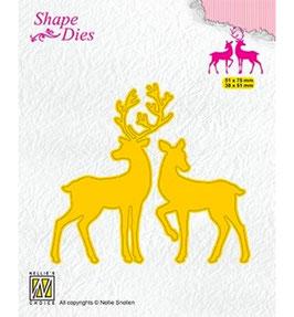 """Stanzschablone """"Deer"""" - Nellie's Choice"""