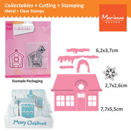 Collectables Christmas Village - Marianne Design