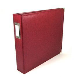 Faux Leather Album, Wine - We R Memory Keepers