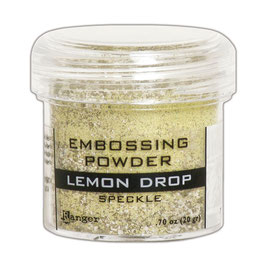 "Embossingpulver ""Speckle Lemon Drop"" - Ranger"