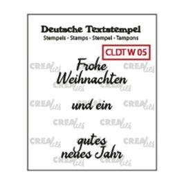 """Clearstamp """"Text #05 Weihnachten"""" - Crealies"""