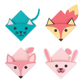 "Thinlits Die Set ""Animal Bookmarks"" - Sizzix"