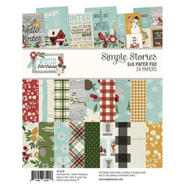 Winter Farmhouse 6x8 Paperpad - Simple Stories