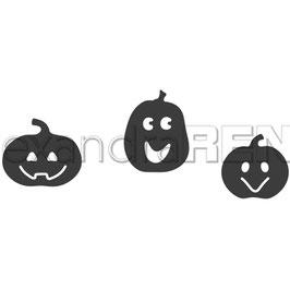 """Stanzschablone """"Halloween Pumpkins"""" - Alexandra Renke"""