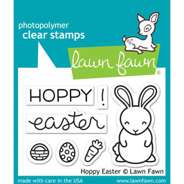 "Clearstamps ""Hoppy Easter"" - Lawn Fawn"