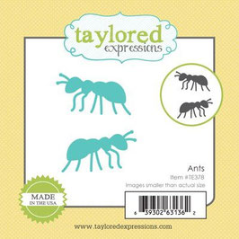 "Stanzschablone ""Little Bits Ants"" - Taylored Expressions"