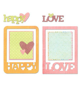 Thinlits Die Set Phrase Cards - Sizzix