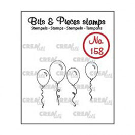 "Clearstamps ""Bits & Pieces #158 - Ballon"" - Crealies"