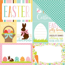 Easter, Journal Cards - Echo Park Paper