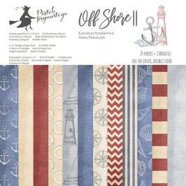Off Shore II 6x6 Paperpad - Piatek13