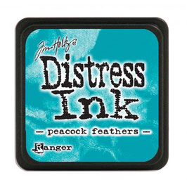 Tim Holtz Distress Mini Ink - Peacock Feathers
