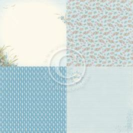 Seaside Stories, Beach Blossoms 6x6 - Pion Design