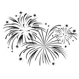 "Prägeschablone ""Fireworks"" - Darice"