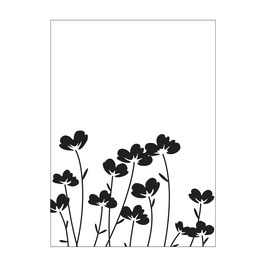 "Prägeschablone ""Flowers"" - Darice"