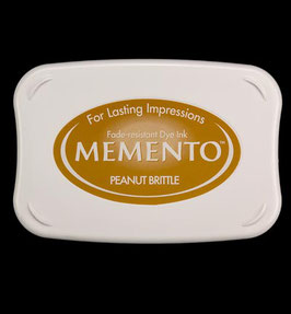 Memento Inkpad - Peanut Brittle