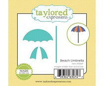 Little Bits Beach Umbrella - Taylored Expressions