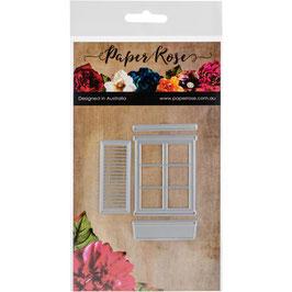 "Stanzschablone ""Window & Accessoires"" - Paper Rose"
