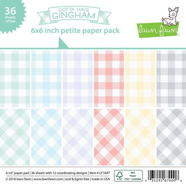 Gotta Have Gingham 6x6 Collection Pack - Lawn Fawn