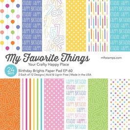 Birthday Brights 6x6 Paperpad - My Favorite Things