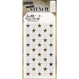 "Layered Stencil ""Shifter Stars"" - Tim Holtz"