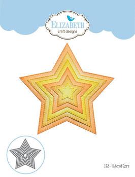 Stitched Stars - Elizabeth Craft Designs
