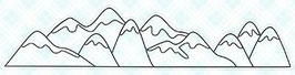 """Clearstamp """"Mountains"""" - LDRS Creative"""