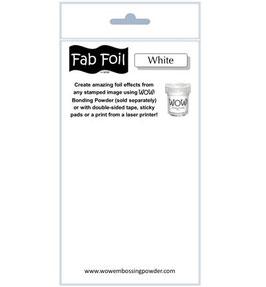 Fabulous Foil, Snowy White - WOW