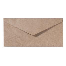Kuverts Kraft 11,5 x 22,5 cm