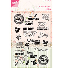 Stempel Text Baby -  JoyCrafts