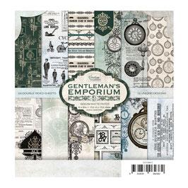 Gentleman's Emporium 6x6 Paperpad - Couture Creations