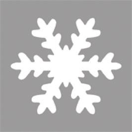 Rayher - Motivstanzer Schneeflocke, 5,08 cm