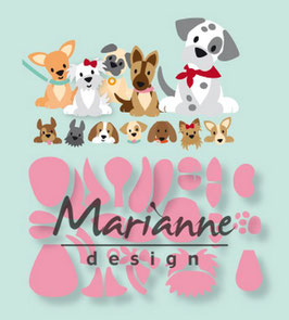 "Collectable ""Eline's Puppy"" - Marianne Design"